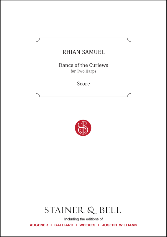 Samuel, Rhian: Dance Of The Curlews. Two Harps