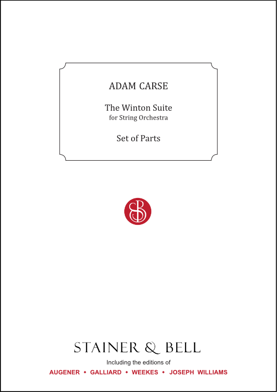 Carse, Adam: The Winton Suite. Parts