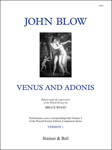 Blow, John: Venus And Adonis. Version 1. Performing Score