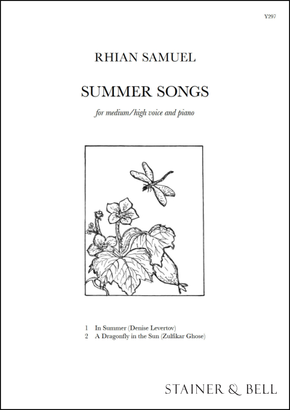 Samuel, Rhian: Summer Songs. Medium Voice And Piano