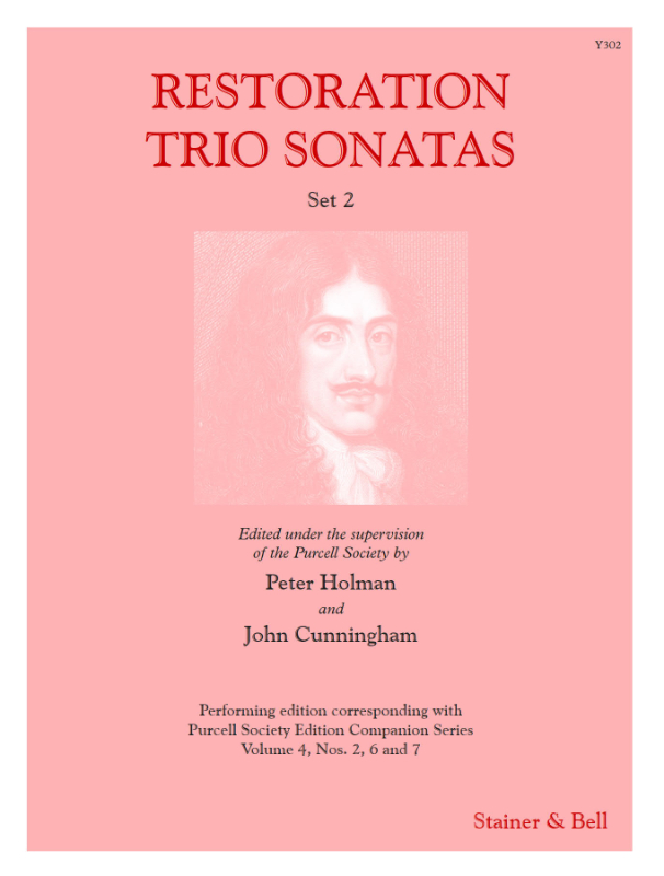 Restoration Trio Sonatas Set 2. Score And Parts