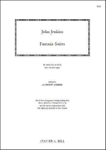 Jenkins, John: Fantasia-Suites, Set 1 (MB104, Nos. 1-6)