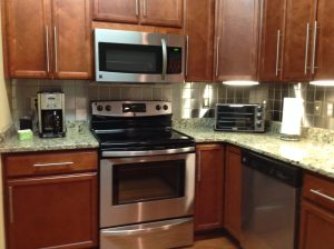 4x4 Stainless Steel Backsplash