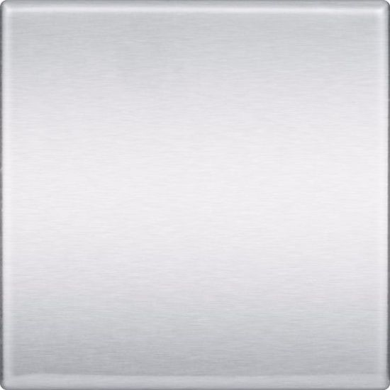 """6""""x6"""" Square Stainless Steel Tile handcrafted by US Manufacturer StainlessSteelTile.com"""