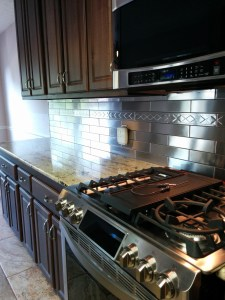 Armstrong Design a Room featuring Stainless Steel Tile