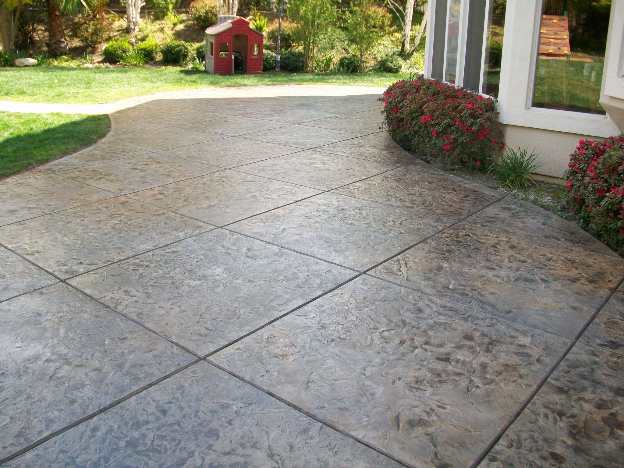 stamped concrete gallery the stain store