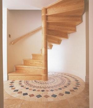 spiral-staircase-wooden
