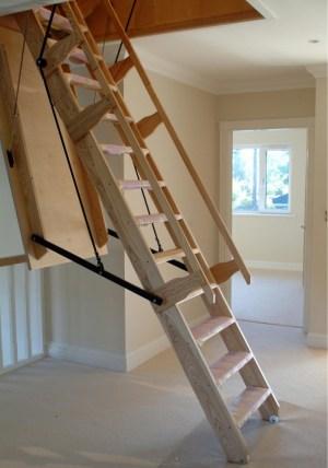 wooden-stairway
