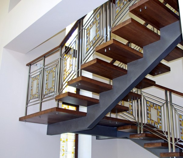stair railing design indoor ideas