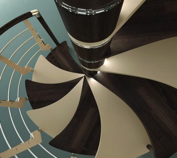 modern inspiring spiral staircase designs ideas