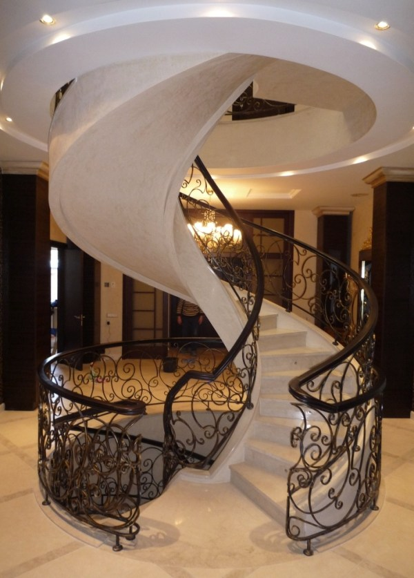 spiral model staircase design ideas