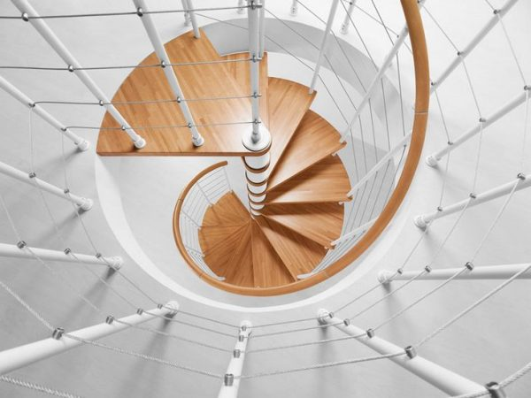 photo spiral ladder ideas