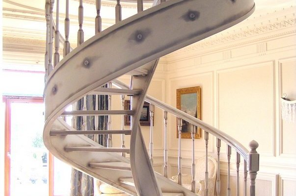 spiral staircase inside house ideas
