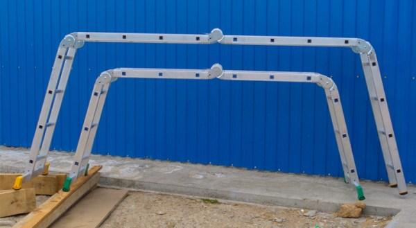 Swivel Ladder Transformer Staircase Design