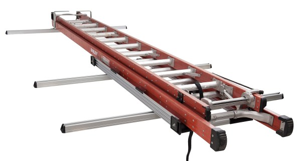 image of sliding ladders
