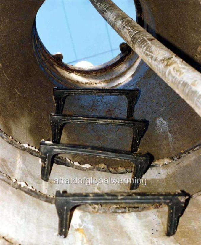manhole ladder detail