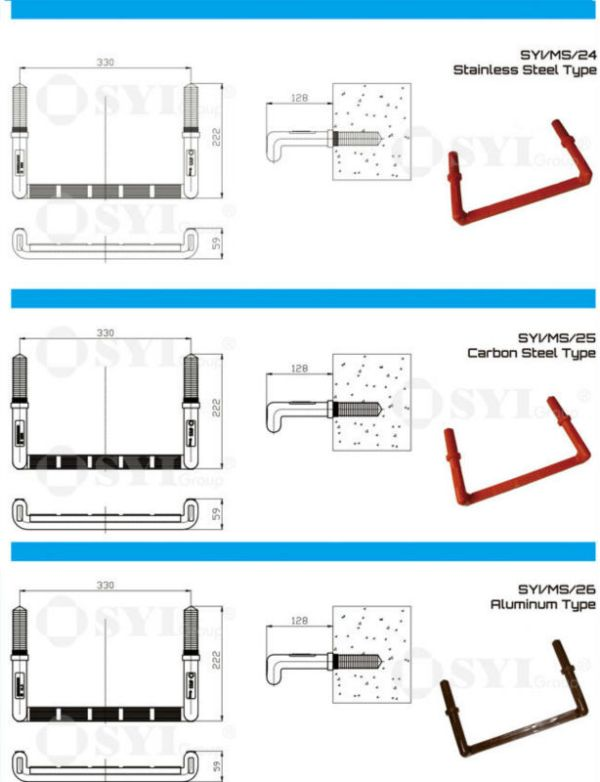 manhole ladder steps