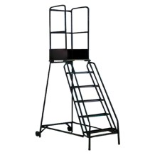 warehouse ladders used