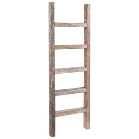 wooden ladder decor