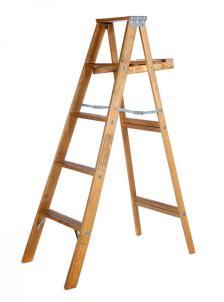 wooden ladder