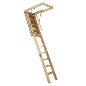 wooden ladders lowes
