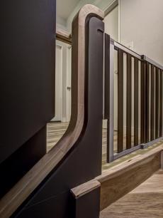 best custom wooden staircases modern