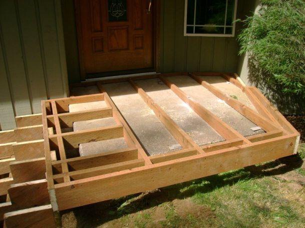 cement porch steps