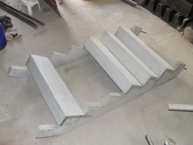 cement stair treads