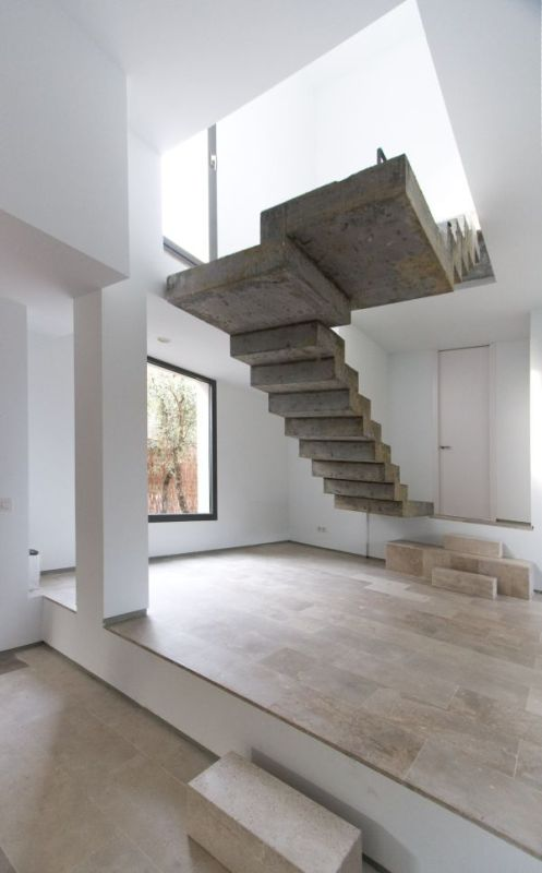 concrete stairs design