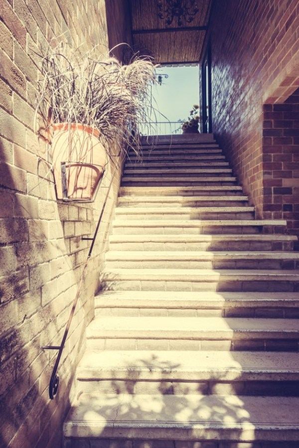 concrete stairs photos antique