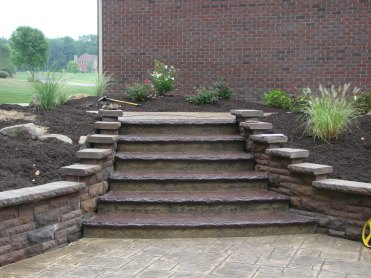concrete stairs photos