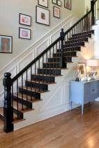 dark wood stair treads