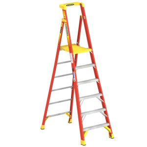 fiberglass ladders at lowes