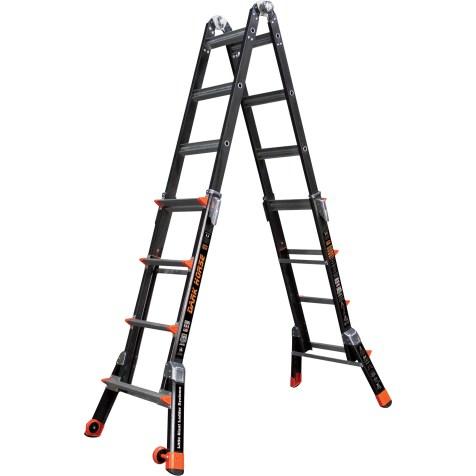 little giant fiberglass ladder