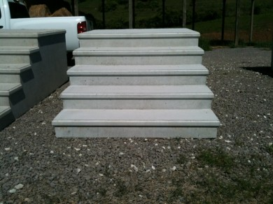 premade cement steps