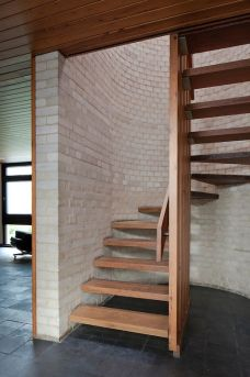 small wooden stairs