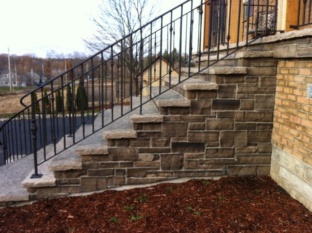 stone staircase construction