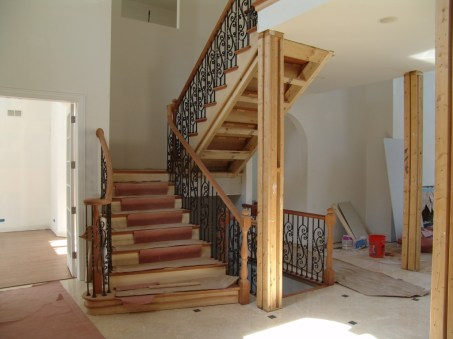 wooden balustrades for stairs