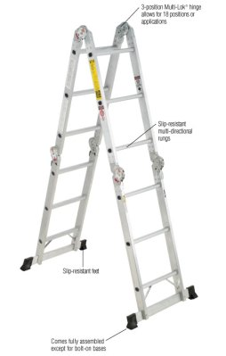 4-section aluminum ladders_5