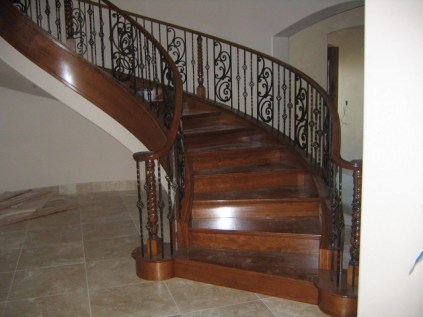 all wood stairs and railings inc_53
