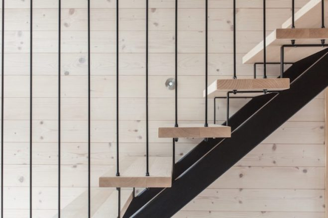 covering metal stairs with wood_12