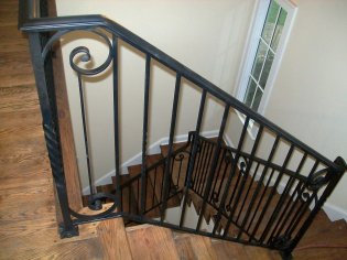 forged iron handrails stairs_12