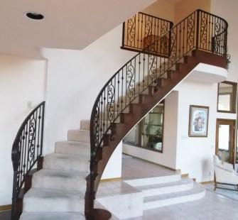 metal handrails for stairs indoors_18