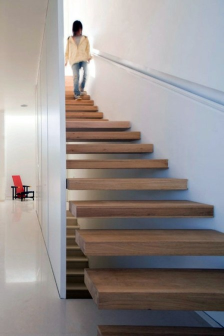 modern solid wood stairs_3