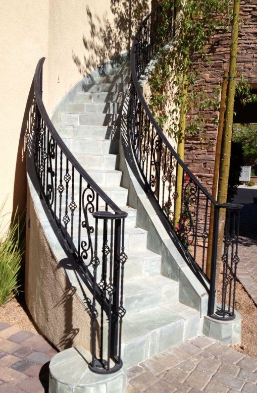 Wrought Iron Exterior Railings