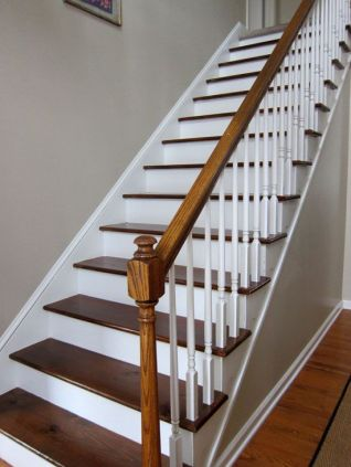 painted wood stairs images_56
