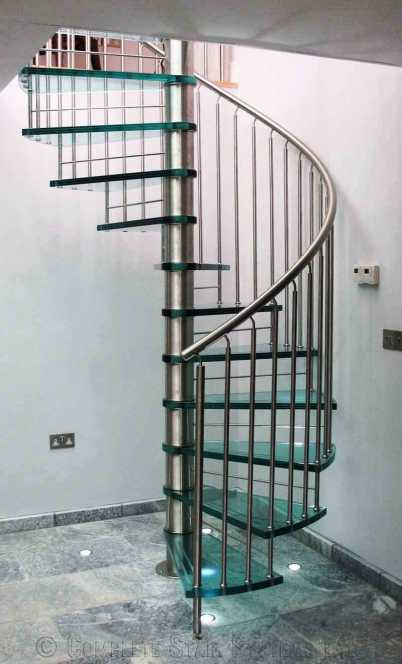 custom welded stairs
