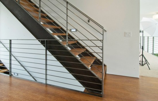 welded stair stringer design