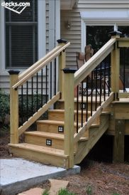 wooden deck stairs ideas_80
