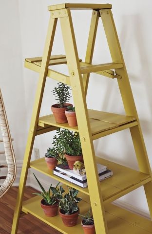 wooden ladder porch ideas_3